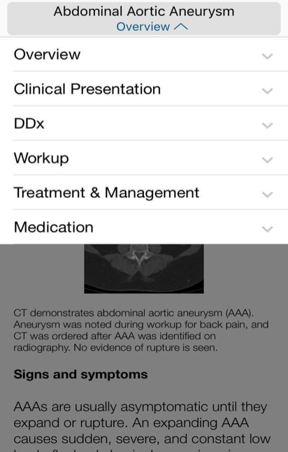 Medscape and iPhone apps: The stethoscope of the 21st