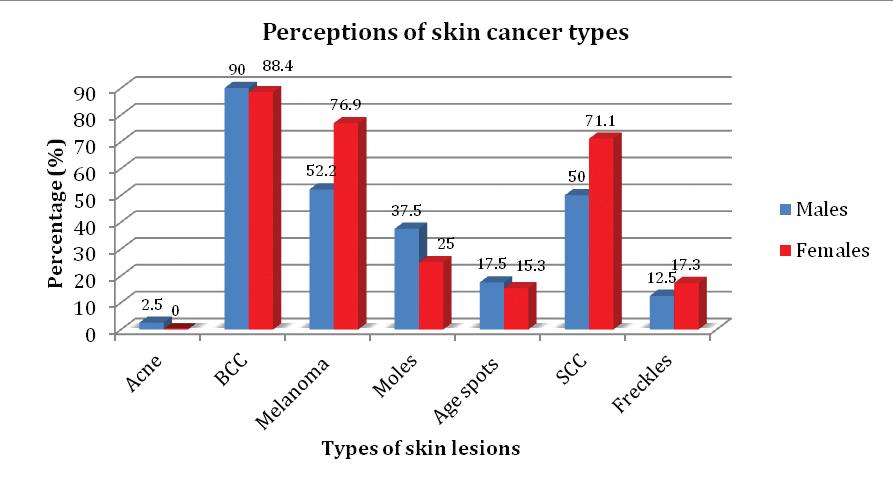 Skin Cancer Awareness In The Northern Rivers The Gender Divide Australian Medical Student Journal